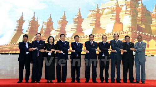 ASEAN capital cities' leaders gather in Laos