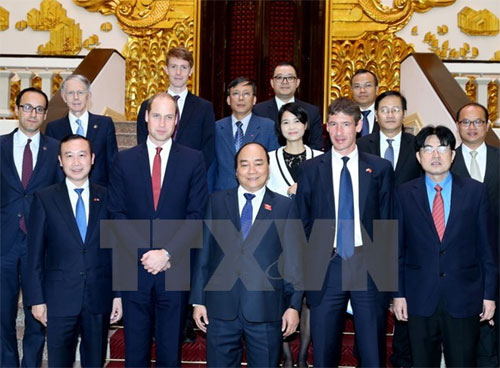 Vietnam could become role model of wildlife protection: Prince William