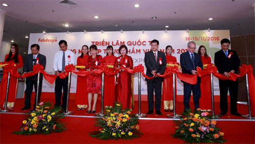 Over 550 booths featured at Vietnam Foodexpo 2016
