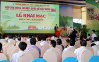 intl agriculture trade fair opens in can tho