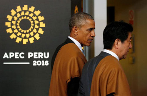 APEC leaders commit to fighting 'all forms' of protectionism