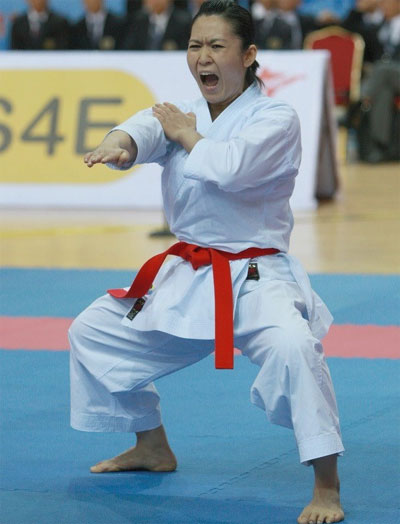 Vietnam's kata queen named WKF commission member