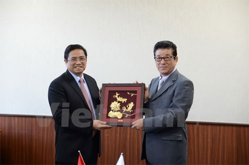 Osaka called to further cooperation with Vietnam