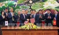 rok bank approves 77 million usd loan for vietnams irrigation