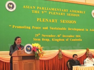 na vice chairwoman calls on asian countries to forge ties