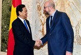 vietnamese belgian pms agree on initiatives for stronger ties