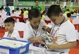 vietnamese students win prizes at intl robothon competition