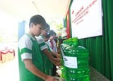 dow provides clean drinking water to nearly 1500 danangs pupils