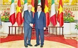 major progress in italy vietnam relations