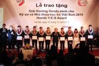 honda vietnam celebrates 10 years of fostering young vietnamese talents