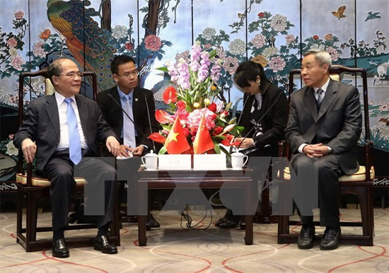 NA Chairman supports closer ties with China's Guangdong