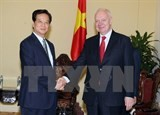 press conference on vietnam russia cooperation